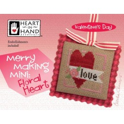 Merrymaking Mini: Floral Heart