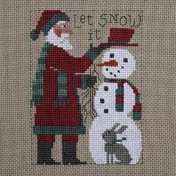 Prairie Schooler Santa 2018