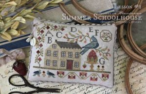 Brenda Gervais With Thy Needle and Thread Summer School House