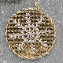 December - Gilded Snowflake - DebBees Designs