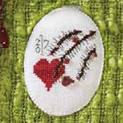October - Holiday Heart - Hot House Petunia Designs