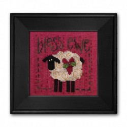 Bless Ewe - Just Another Button Company - Linen