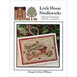 Seasons Greetings - Little House Needleworks