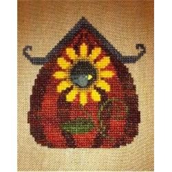 Sunflower Birdhouse - Fireside Originals