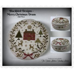 Blackbird Designs - Merry Christmas Drum