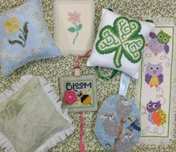 Spring Robin Stitch Along Entries