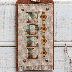 January - Rustic Noel - Turquoise Graphics